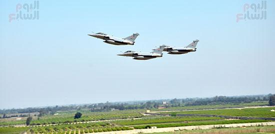 3 طائرات رافال جديدة تصل مصر