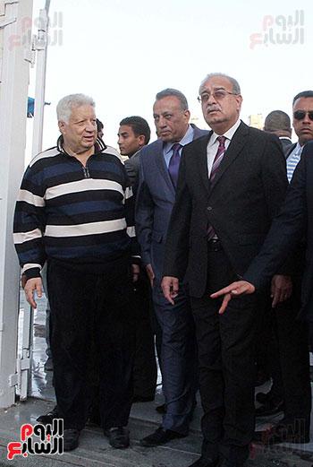رئيس الوزراء يزور الزمالك لافتتاح المنشآت الجديدة (40)