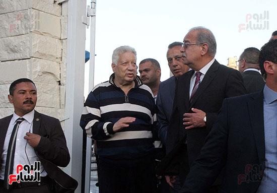 رئيس الوزراء يزور الزمالك لافتتاح المنشآت الجديدة (11)