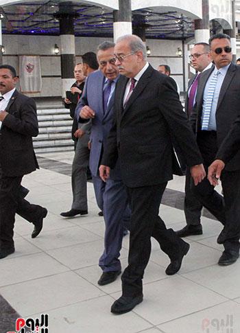 رئيس الوزراء يزور الزمالك لافتتاح المنشآت الجديدة (39)