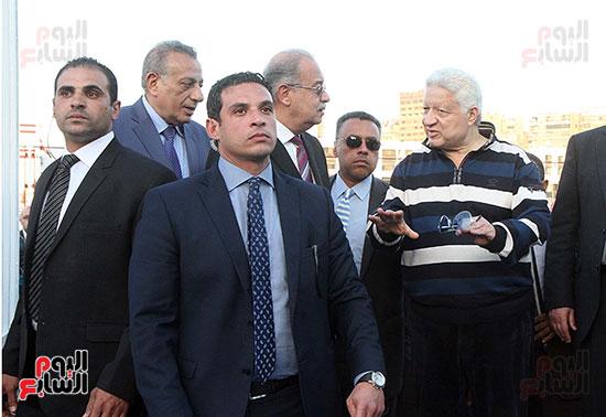 رئيس الوزراء يزور الزمالك لافتتاح المنشآت الجديدة (19)