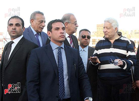 رئيس الوزراء يزور الزمالك لافتتاح المنشآت الجديدة (18)