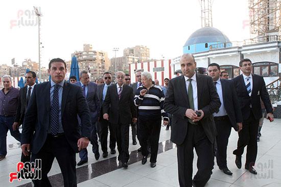 رئيس الوزراء يزور الزمالك لافتتاح المنشآت الجديدة (5)
