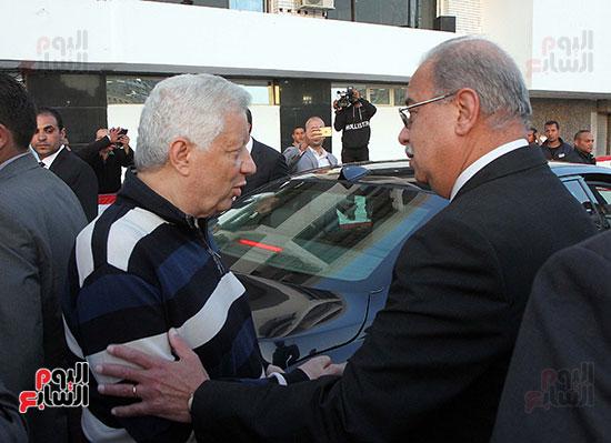 رئيس الوزراء يزور الزمالك لافتتاح المنشآت الجديدة (38)