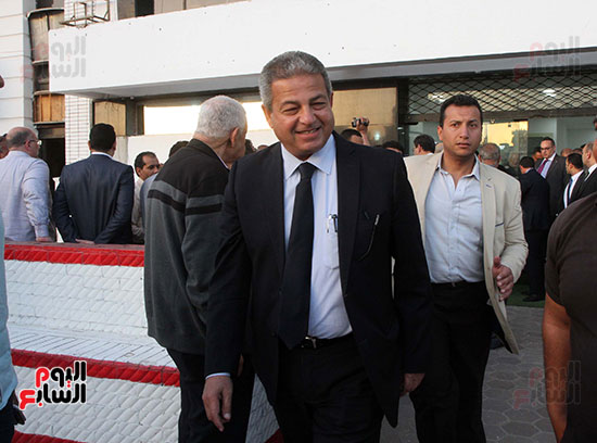 رئيس الوزراء يزور الزمالك لافتتاح المنشآت الجديدة (37)
