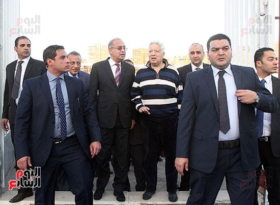 رئيس الوزراء يزور الزمالك لافتتاح المنشآت الجديدة (17)