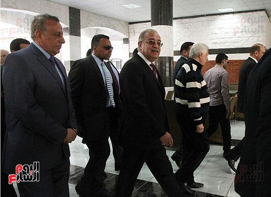 رئيس الوزراء يزور الزمالك لافتتاح المنشآت الجديدة (6)