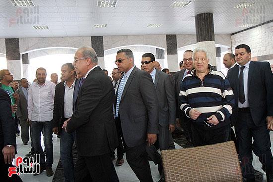 رئيس الوزراء يزور الزمالك لافتتاح المنشآت الجديدة (7)