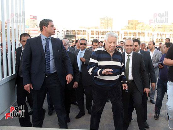 رئيس الوزراء يزور الزمالك لافتتاح المنشآت الجديدة (15)