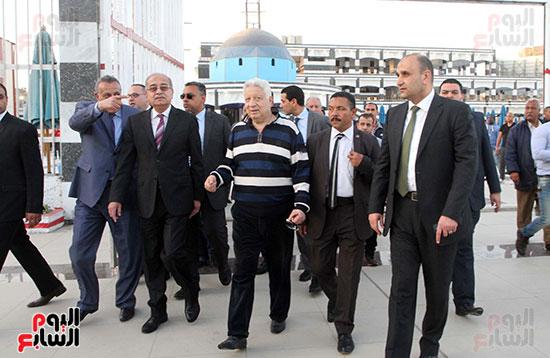 رئيس الوزراء يزور الزمالك لافتتاح المنشآت الجديدة (12)