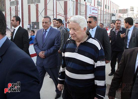 رئيس الوزراء يزور الزمالك لافتتاح المنشآت الجديدة (13)