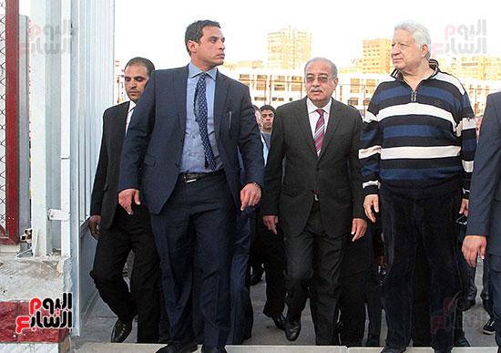 رئيس الوزراء يزور الزمالك لافتتاح المنشآت الجديدة (16)
