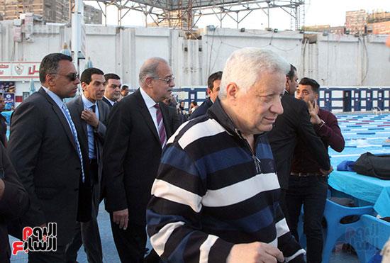 رئيس الوزراء يزور الزمالك لافتتاح المنشآت الجديدة (26)