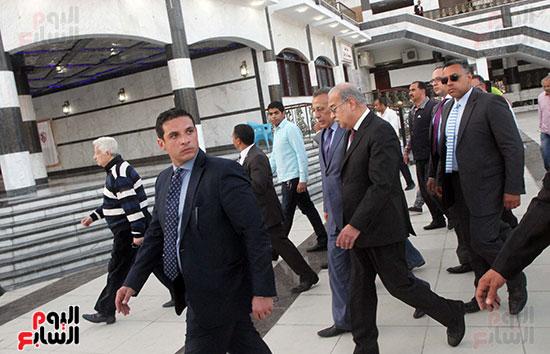 رئيس الوزراء يزور الزمالك لافتتاح المنشآت الجديدة (8)