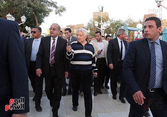 رئيس الوزراء يزور الزمالك لافتتاح المنشآت الجديدة (32)