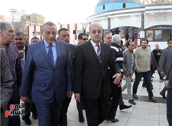 رئيس الوزراء يزور الزمالك لافتتاح المنشآت الجديدة (4)