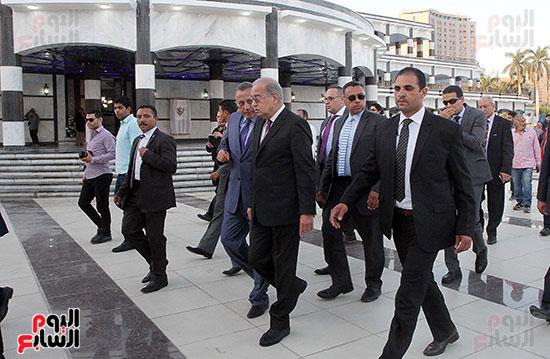 رئيس الوزراء يزور الزمالك لافتتاح المنشآت الجديدة (9)