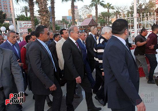 رئيس الوزراء يزور الزمالك لافتتاح المنشآت الجديدة (35)