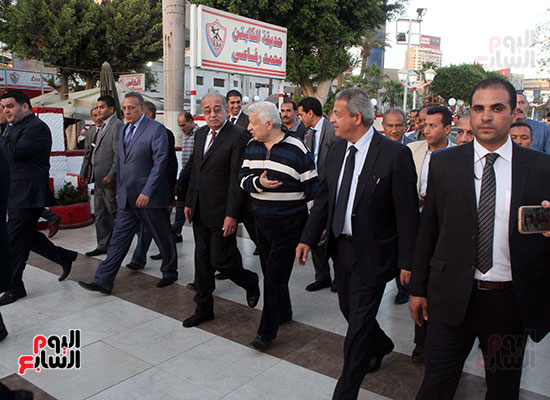 رئيس الوزراء يزور الزمالك لافتتاح المنشآت الجديدة (34)