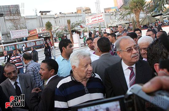 رئيس الوزراء يزور الزمالك لافتتاح المنشآت الجديدة (31)