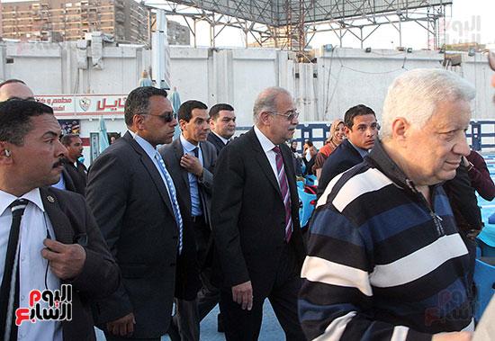 رئيس الوزراء يزور الزمالك لافتتاح المنشآت الجديدة (27)