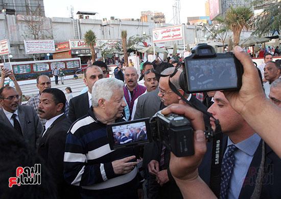 رئيس الوزراء يزور الزمالك لافتتاح المنشآت الجديدة (30)