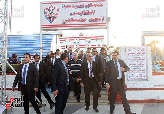 رئيس الوزراء يزور الزمالك لافتتاح المنشآت الجديدة (23)