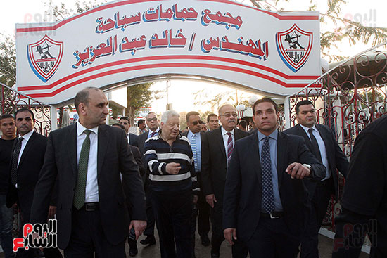 رئيس الوزراء يزور الزمالك لافتتاح المنشآت الجديدة (25)