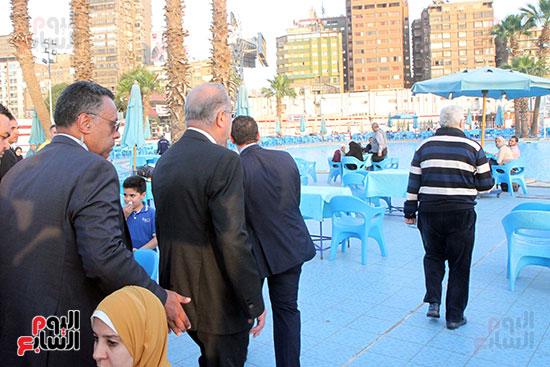 رئيس الوزراء يزور الزمالك لافتتاح المنشآت الجديدة (28)