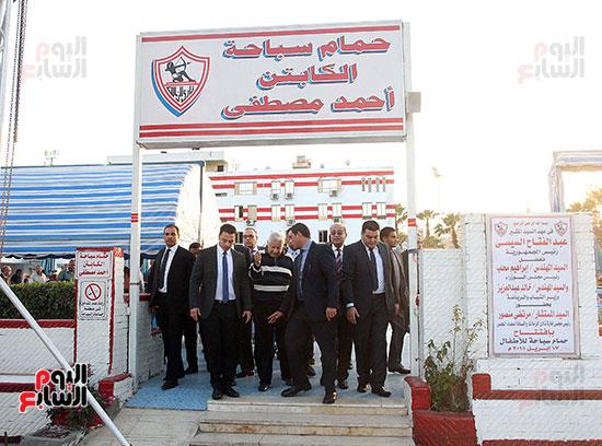 رئيس الوزراء يزور الزمالك لافتتاح المنشآت الجديدة (22)
