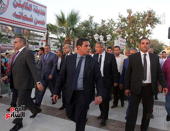 رئيس الوزراء يزور الزمالك لافتتاح المنشآت الجديدة (33)