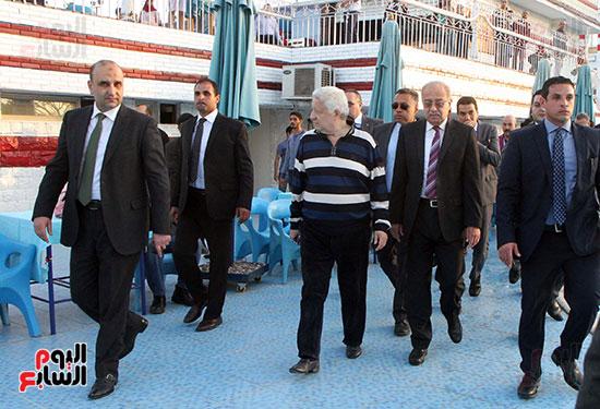 رئيس الوزراء يزور الزمالك لافتتاح المنشآت الجديدة (20)