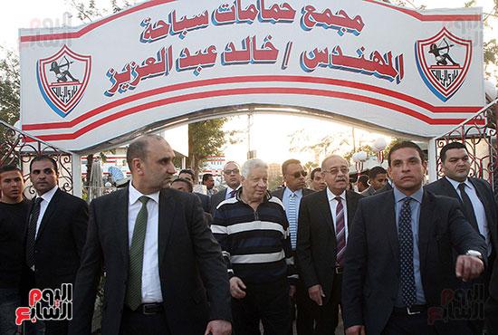 رئيس الوزراء يزور الزمالك لافتتاح المنشآت الجديدة (24)