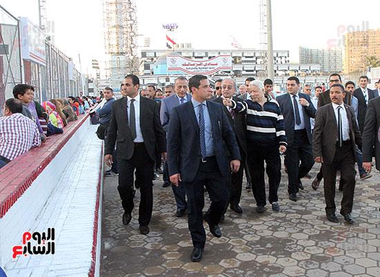رئيس الوزراء يزور الزمالك لافتتاح المنشآت الجديدة (14)