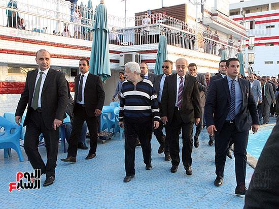 رئيس الوزراء يزور الزمالك لافتتاح المنشآت الجديدة (21)