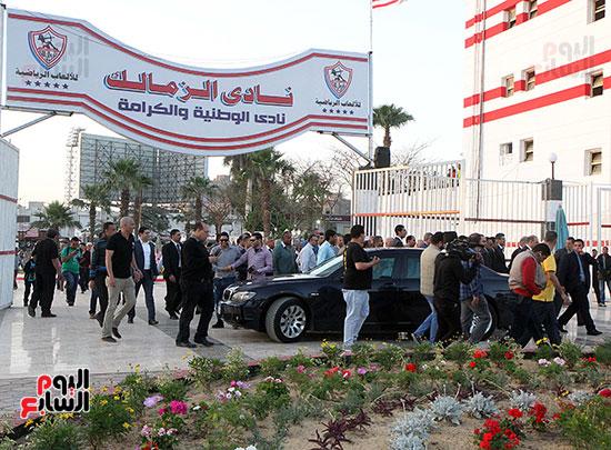 رئيس الوزراء يزور الزمالك لافتتاح المنشآت الجديدة (36)