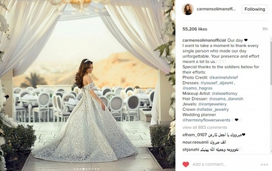 274ad5d5b8e10 8 معلومات عن مصمم فستان زفاف كارمن سليمان يوسف الجسمى - اليوم السابع