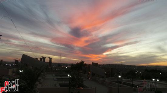 مشهد ليلى بسماء متحف النيل