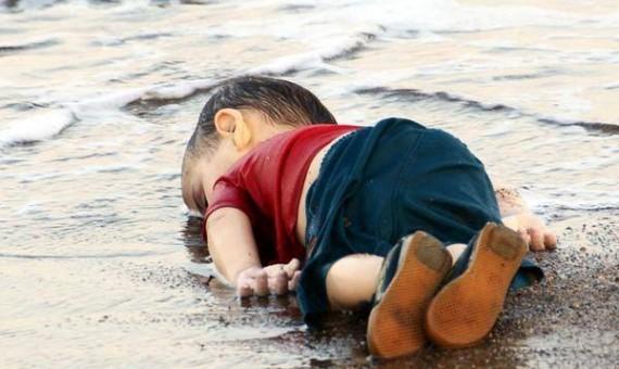 الطفل السورى إيلان