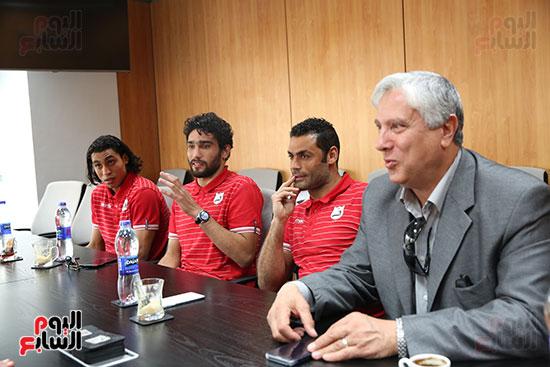 جلسة الاعتذار للزميل محمد غنيم