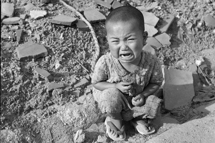 ضحية القنبلة الذرية عام 1945