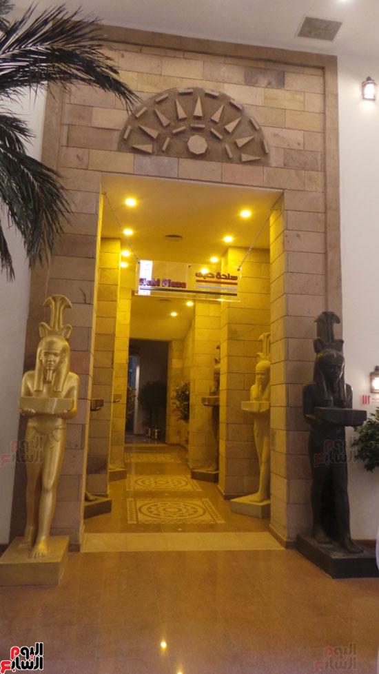 مدخل حابى بالمتحف