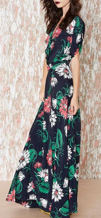 فستان الفلورى يناسب الربيع..~