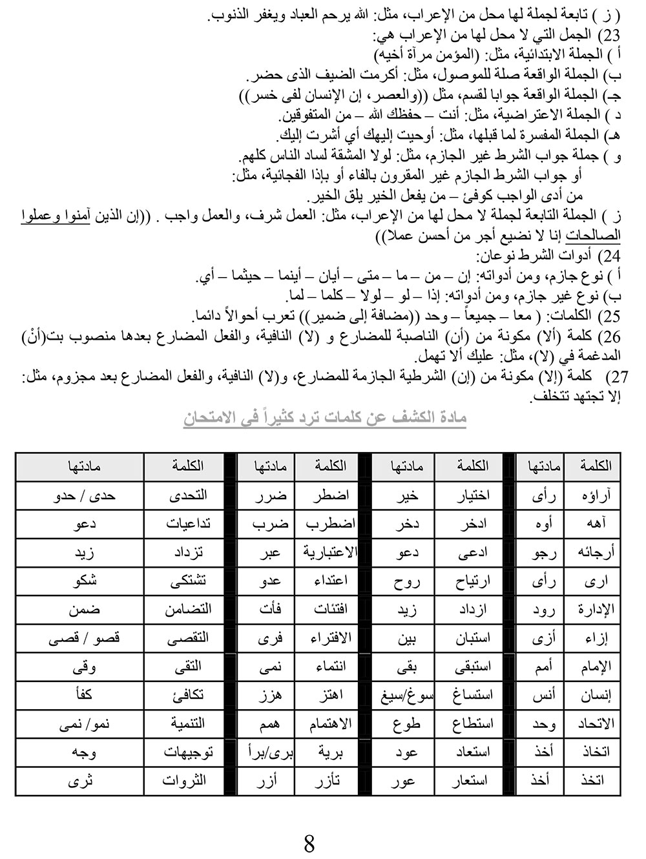أقوى-المراجعات-النهائية-للثانوية-العامة--فى-اللغة-العربية-8