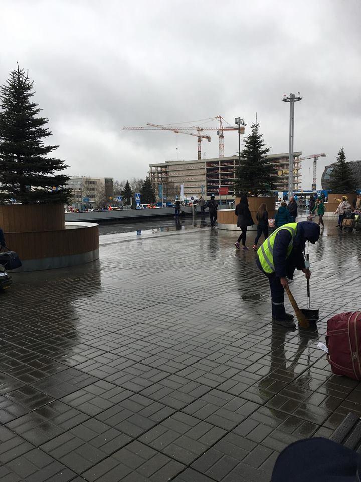 تأمين المطارات الروسية