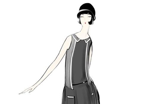 أزياء العمل في العشرينيات