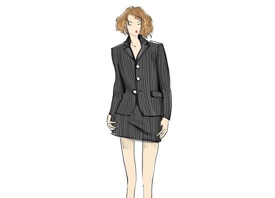 أزياء العمل في التسعينيات