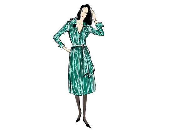 أزياء العمل في السبعينيات
