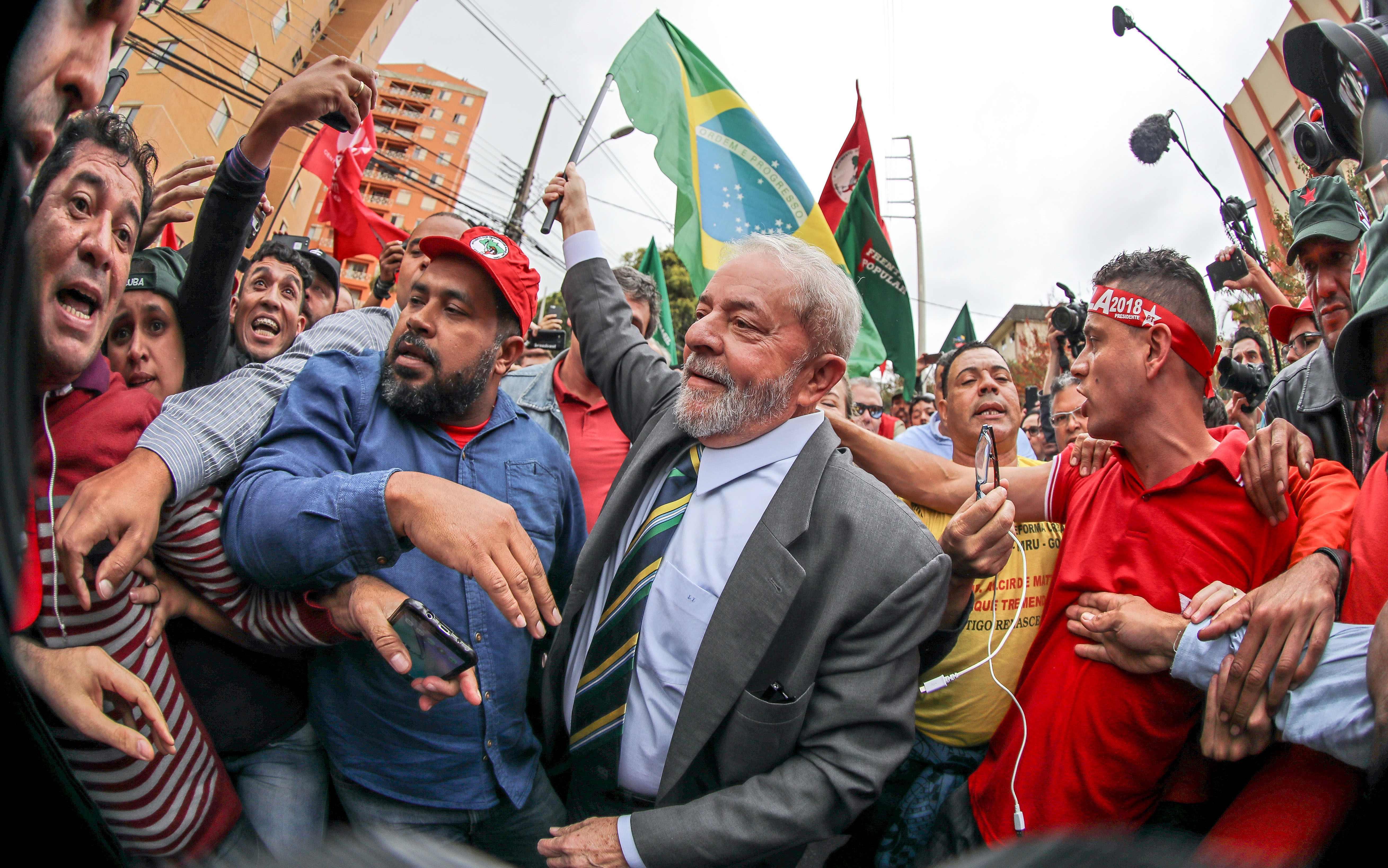 الرئيس البرازيلي الأسبق يقول انه ضحية