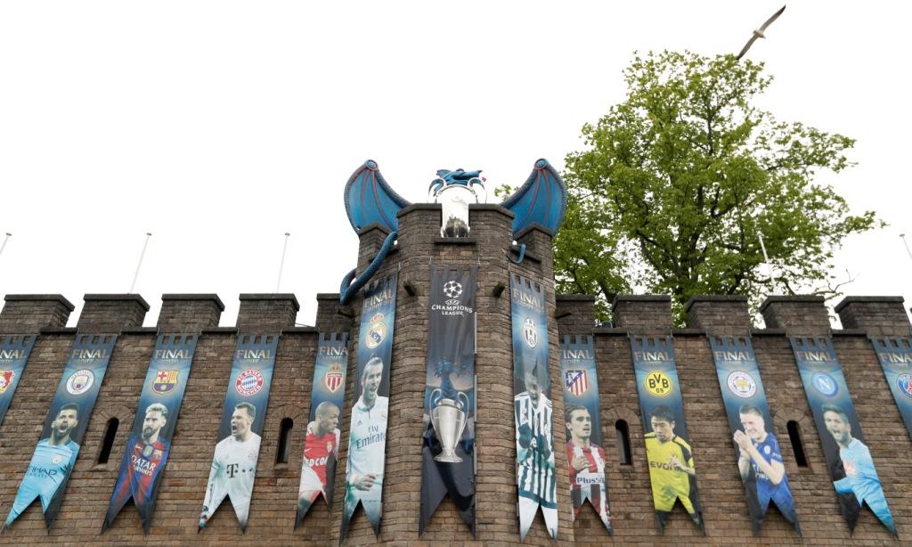 ملعب نهائي دوري أبطال أوروبا في كارديف عاصمة ويلز (14)